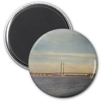 Journey to New Places Magnet