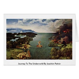 Journey To The Underworld By Joachim Patinir Cards