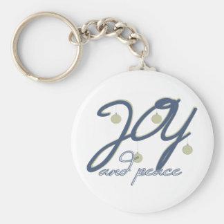 Joy And Peace Key Chain