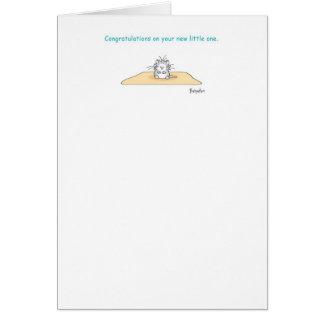 JOY AND WONDER New Baby Card