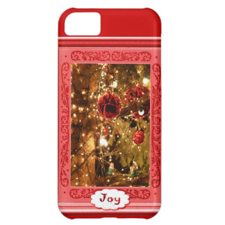 Joy, baubles and lights iPhone 5C cases