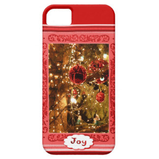 Joy, baubles and lights iPhone 5 case