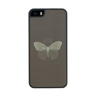 Joy Butterfliy Carved® Maple iPhone 5 Case