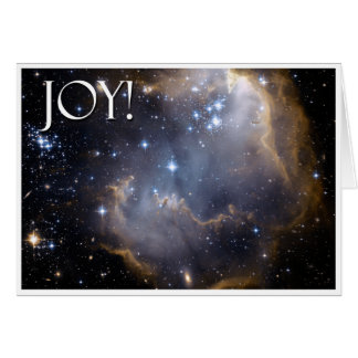Joy!  Celestial Greeting Card