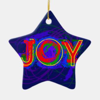 Joy Christmas ornament 2