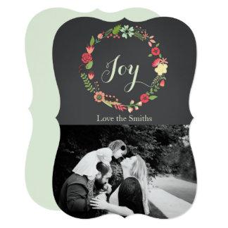 Joy - Christmas Wreath Card