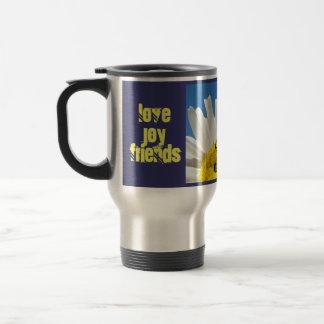 Joy Coffee Travel Mugs Holiday Love Friends Enjoy