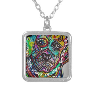Joy Comes in the Morning Silver Plated Necklace