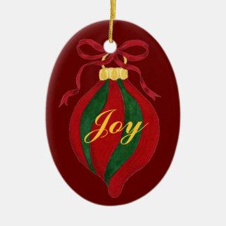 Joy - Customizable Christmas Tree Ornament