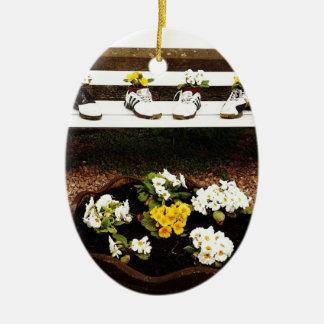 Joy Ceramic Oval Decoration