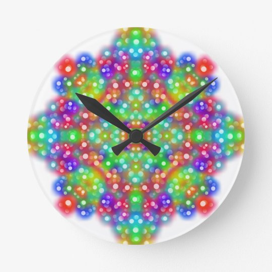 Joy Expression Mandala Clock