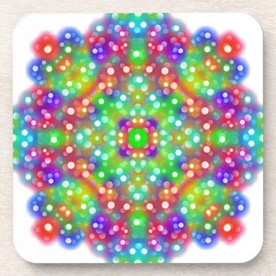 Joy Expression Mandala Coaster