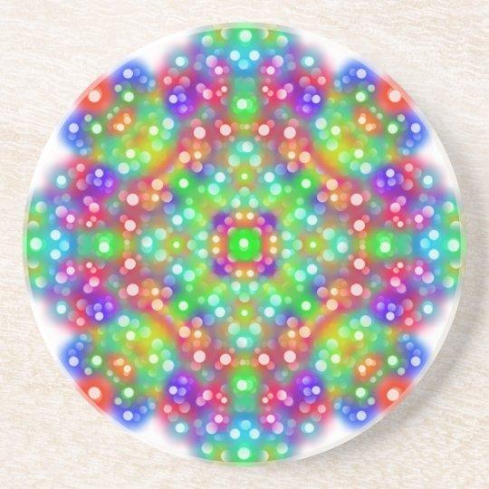 Joy Expression Mandala Drink Coaster