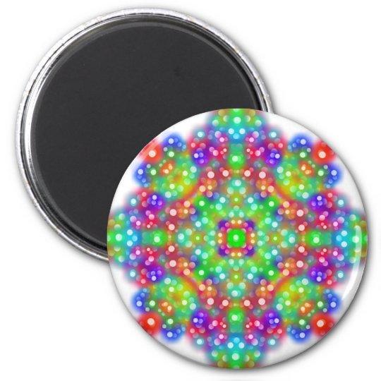 Joy Expression Mandala Magnet