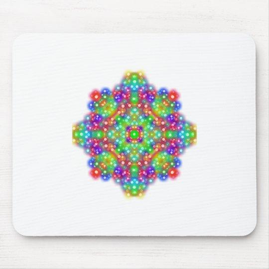 Joy Expression Mandala Mouse Pad