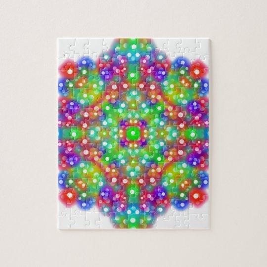 Joy Expression Mandala Puzzle