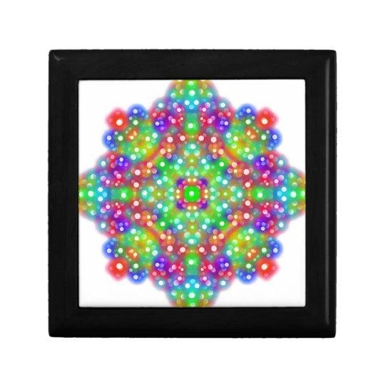 Joy Expression Mandala Small Square Gift Box