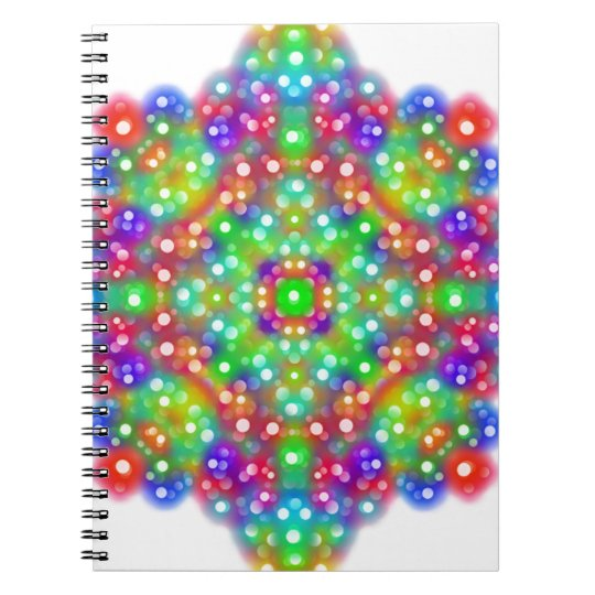 Joy Expression Mandala Spiral Notebook