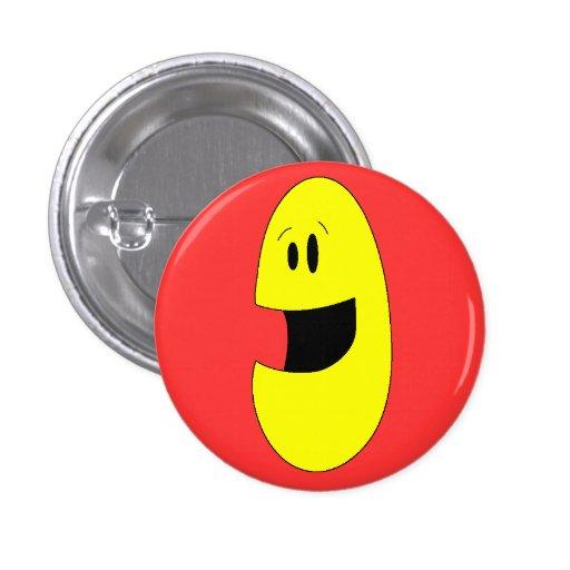 Joy Face Badge Pins