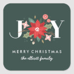 Joy Flourish Sticker - Pine