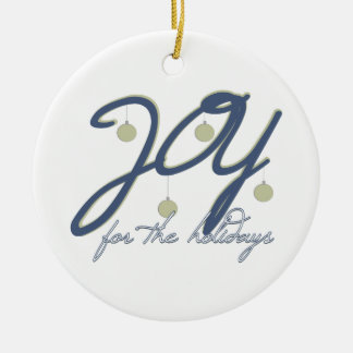Joy For The Holidays Ornament
