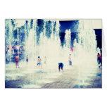 Joy Fountain Cards