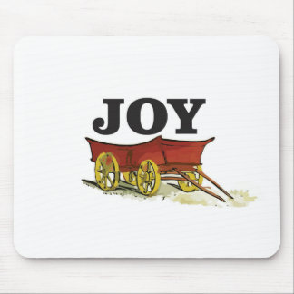 joy full wagon mouse pad
