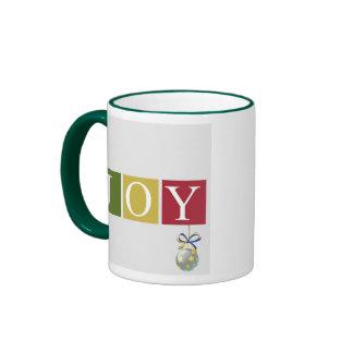 Joy Hanging Ornament Christmas Mug