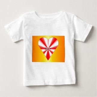 Joy Heart Baby Clothes T-shirts