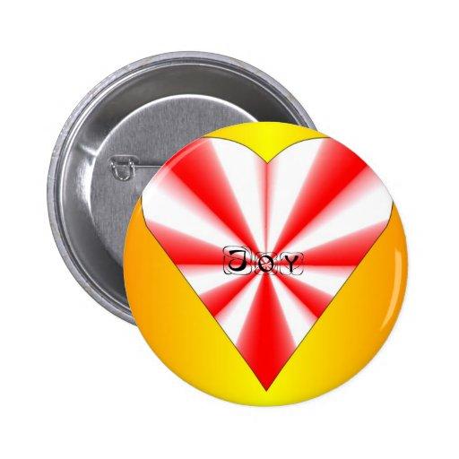 Joy Heart Pin