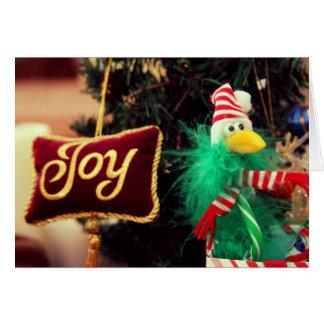Joy - Holiday 5x7 Greeting Card by jjhelene