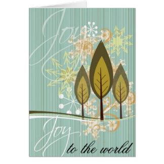 Joy- Holiday Card
