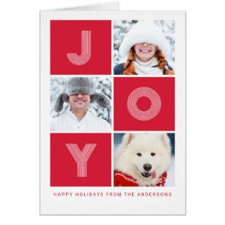JOY | Holiday Photo Card