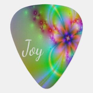 Joy - Image looks like radiant, beautiful Joy Plectrum