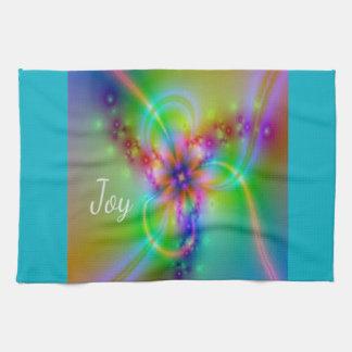 Joy - Image looks like radiant, beautiful Joy Tea Towel