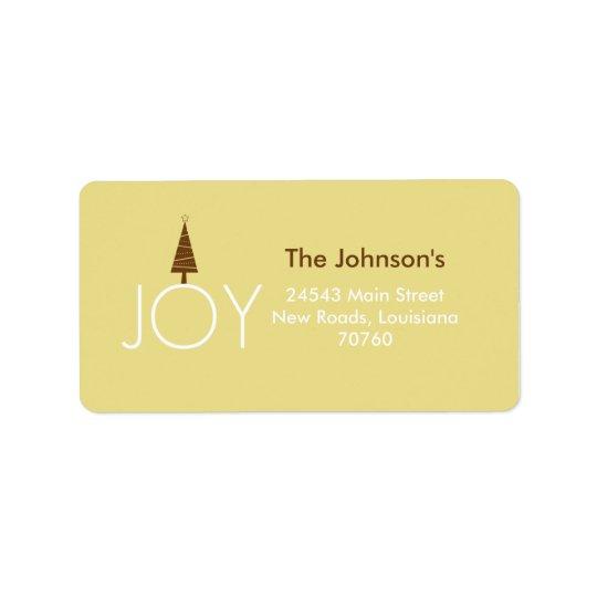 Joy Label
