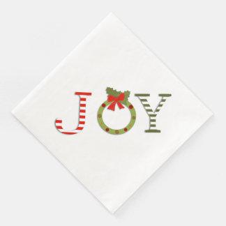Joy of Christmas Disposable Serviette