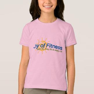 Joy of Fitness- Girls Ringer T-Shirt