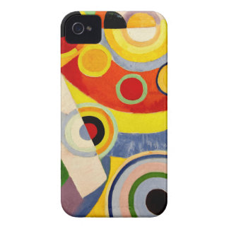 Joy of Life - Vintage Art by Robert Delaunay iPhone 4 Cases