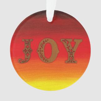 """""""Joy"""" Ornament by All Joy Art"""
