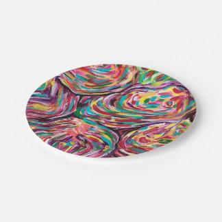 Joy paper plates 7 inch paper plate