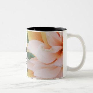 Joy Peace Hope Love Floral Mug