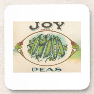 Joy Peas Drink Coaster