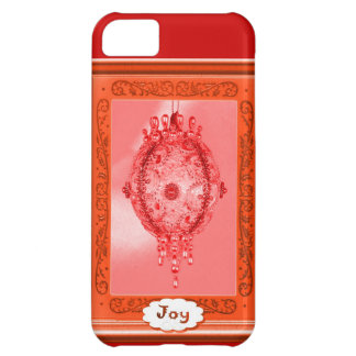 Joy, pink bauble iPhone 5C covers