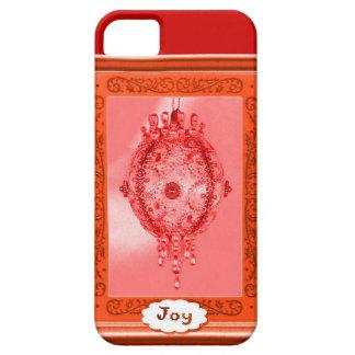 Joy, pink bauble iPhone 5 cases
