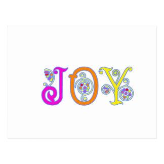 JOY! POSTCARD