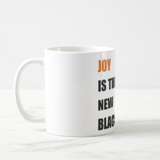 joy quote white mug