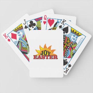 joy red easter poker deck