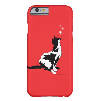 """""""Joy"""" Red Holiday iPhone Case Barely There iPhone 6 Case"""