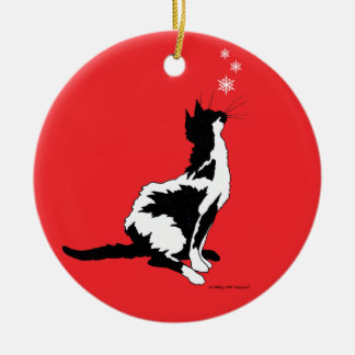 """""""Joy"""" Red Holiday Ornament"""